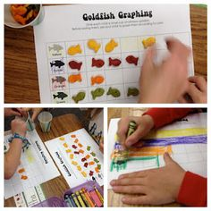 One Fish Two Fish Graphing activity