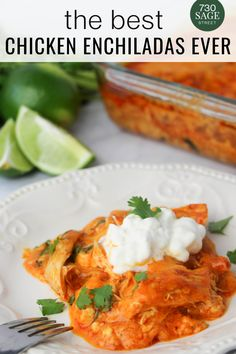 This low carb chicken enchilada casserole recipe will be loved by everyone, but the absence of tortillas makes it perfect for low carb or keto diets.#easyrecipes #dinner #keto #onthetable #enchiladasrecipes Easy Enchilada Casserole, Enchilada Recipes, Low Carb Chicken Recipes, Low Carb Recipes, Healthy Recipes, Low Carb Pizza, Low Carb Lunch, Low Carb Chili, Chicken Enchiladas