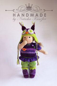 Small Waldorf Doll Girl for order by OceanIdeas on Etsy, $160.00