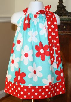 Girls Pillowcase dress