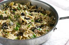 Tuna and Olive Pasta 8