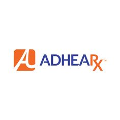 Logo for Adhearx. Designed by @seankinberger