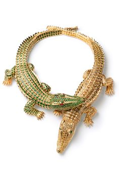 Exposición joyas Cartier en el Thyssen, Madrid, España | Cartier jewlery exhibition at the Thyssen Museum, Madrid, Spain ~ Alligators!!! <3