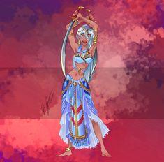Disney Belly Dancers: Tribal Pocahontas by Blatterbury on DeviantArt Kida Disney, Arte Disney, Disney Girls, Disney Love, Disney Family, Disney Princess Fashion, Disney Princess Art, Disney Princess Dresses, Disney Style