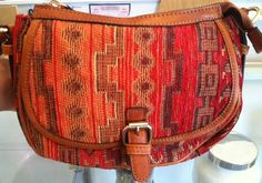 Autumn Aztec print crossbody <3 www.facebook.com/artifactboutique