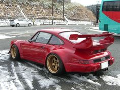 Porsche with whale tale! Love the classics!