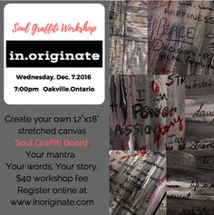 Image of Soul Graffiti Board Workshop