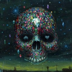 Gemskull by Jeff Soto