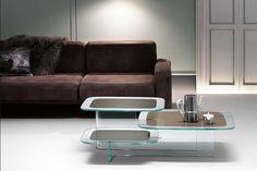 Moderne Glazen Salontafels.30 Beste Afbeeldingen Van Fiam Glazen Design Salontafels