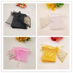 Cheap Gift Bags & Wrapping Supplies, Buy Quality Home & Garden Directly from China Suppliers:100pcs 11 Size Small & Big Organza Gift Bags White Christmas Gift Bag Organza Favor Party Wedding Pouches Jewelry Packaging Bags Enjoy ✓Free Shipping Worldwide! ✓Limited Time Sale ✓Easy Return. Candy Packaging, Jewelry Packaging, Cheap Gift Bags, Christmas Gift Bags, Drawstring Pouch, Organza Gift Bags, Party Wedding, White Christmas, Jewelry Gifts