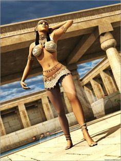 Nubian Egyptian woman