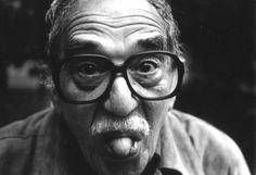García Márquez en su casa de México en 2003.