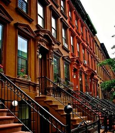 Brownstones, NYC. Here's some inspiration for your real estate dreams!  If you or someone you know is planning to buy or sell in the near future and wants to work with a results-driven Realtor dedicated to providing his clients with up-to-date market information, please contact me today. Visit: www.4salebyandy.com for recent sales, testimonials & more.