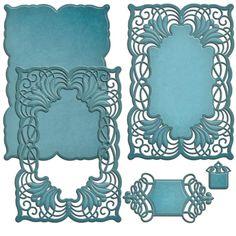 Spellbinders+-+Shapeabilities+Collection+-+Die+-+Cascading+Grace+at+Scrapbook.com