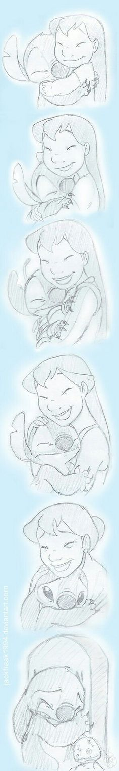 Awww.. Made me cry. Stitch outlives Lilo.