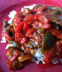 Pepper Steak ~ quick & easy comforting meal!