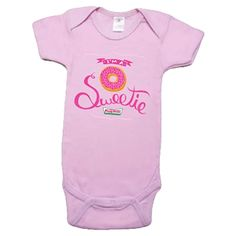 Baby Onesie Pink I'm a Sweetie (6-12 mo)