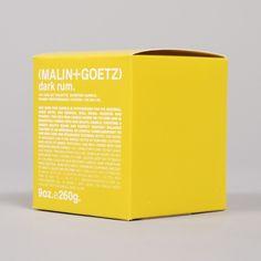 Buy the Malin+Goetz Dark Rum Scented Votive Candle at Goodhood.