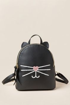 Audrey Cat Mini Backpack