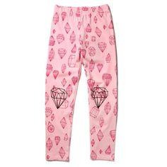 Kids Fashion, Tights, Pajama Pants, Pajamas, Ballet, Diamond, Troll, Pink, Shopping