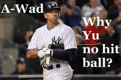 HA! Haha! Hahaha! Love me some Yu Darvish puns. Especially when they're hating on A-Rod and the Yankees.