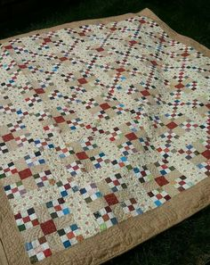 What to do with all of my nine patch blocks that I made years ago. What to do with all of my nine patch blocks that I made years ago. Sampler Quilts, Scrappy Quilts, Easy Quilts, Small Quilts, Mini Quilts, Antique Quilts, Vintage Quilts, Scrap Quilt Patterns, Quilting Ideas
