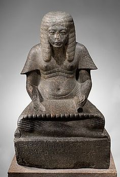 Haremhab as a Scribe of the King, date 1336-1323, grandodiorite. Collection | The Metropolitan Museum of Art