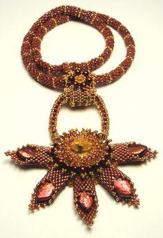 Scythian Starburst Necklace. $250.00, via Etsy.