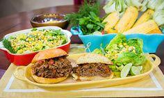 Home & Family - Recipes - Fabio Viviani's Honey Brisket Sloppy Joes & Herb Kentucky Lime Salad | Hallmark Channel