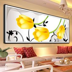 Diy-Diamond-Painting-The-New-Yellow-font-b-Tulip-b-font-Full-Diamond-Embroidery-font-b.jpg (800×800)