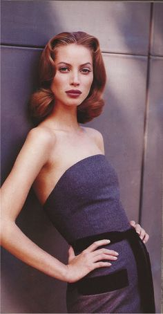 #vintage Christy Turlington in Isaac Mizrahi photographed by Patrick Demarchelier for Harper's Bazaar, September 1992 #90s #thesupers
