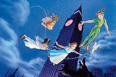 One of my favorite Disney movies, Peter Pan :)