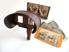 USA 1838 – Stereoscopes had spread across America until the 1930s. Then stereoscope production declined, likely due to the new interest in motion pictures.  However, the stereoscope paved the way for other forms of three-dimensional media to offer viewers something that no ordinary photograph or movie can offer, namely a sense of depth and image realism.