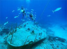 Ship Wreck Scuba Dive, Cayman Islands