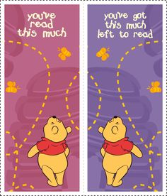 Winnie The Pooh Bookmarks 1