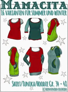 Mamacita Shirt farbenmix, by bienvenido colorido #sewing #nähen #diy #farbenmix