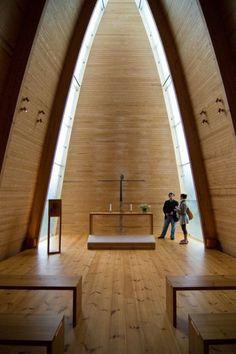 Sanaksenaho Architects, St. Henry's Ecumenical Art Chapel, 2005, Turku, Finland