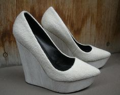 Theyskens' Theory Canapa Wedges