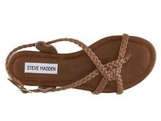 SM Women's Kart Sandal Flat Sandals Sandals Women's Shoes - DSW