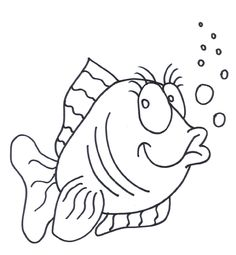 fish coloring pages coloring kids