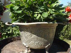 Big French jardiniere plant holder wine cooler by Daisyrootsfrance