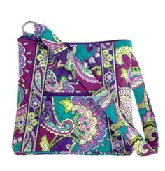 Vera Bradley Large Hipster Heather => Don't get left behind, see this great  product : Travel cosmetic bag