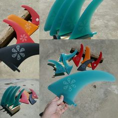 Quillas fins custom order skeeg fins in fiberglass for Hang Five in Baleal. Portugal. Handmade by Neyrafins.