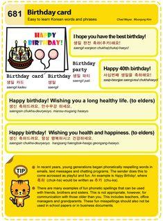 (681) Birthday card
