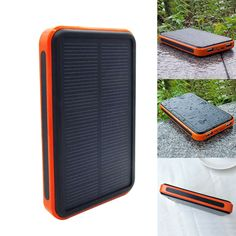 100000mAh Dual USB Waterproof Solar Battery Charger Power Bank For Cell Phone #L in Cell Phones & Accessories, Cell Phone Accessories, Chargers & Cradles | eBay