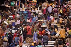 Accra, Ghana.  There is something that is so enticing to me about the chaos of the open market, aggressive vendors, sights and smells.