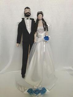 Moje anielskie inspiracje: Para Ślubnych Aniołów.