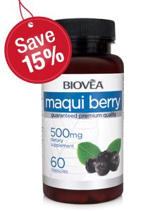 MAQUI is well known for its extremely high antioxidant and anti-inflammatory properties