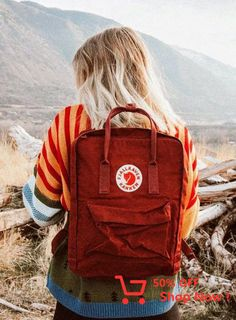 Summer Camp Fashion: Flashback to the - Camping Festival Camping, Backpack Outfit, Kanken Backpack, Travel Backpack, Camping Style, Go Camping, Camping Theme, Family Camping, Marla Catherine