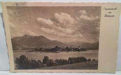 WW11 1937 Postcard Deutches Third Reich Paul von Hindenburg Bust 6pfenning Stamp